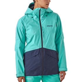 Patagonia Insulated Snowbelle Jacket Dam strait blue